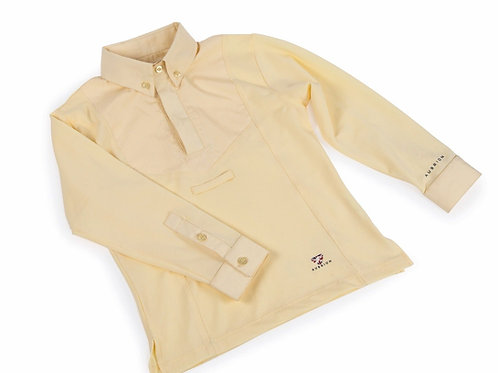 Shires Aubrion Childs Long Sleeve Tie Shirt