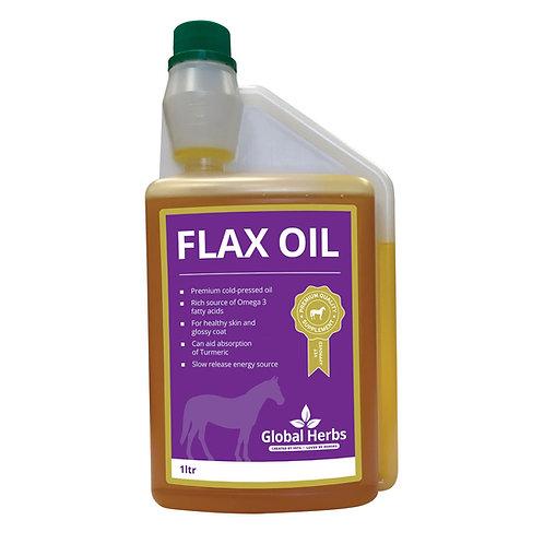 Global Herbs Flax Oil 1-litre