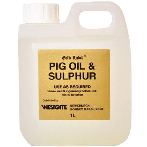 Gold Label Pig Oil