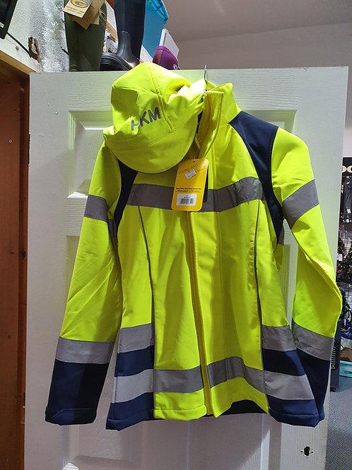 HKM Hi-Viz Waterproof Coat