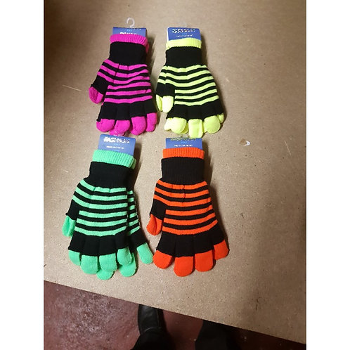 2 in 1 Neon Magic Gloves