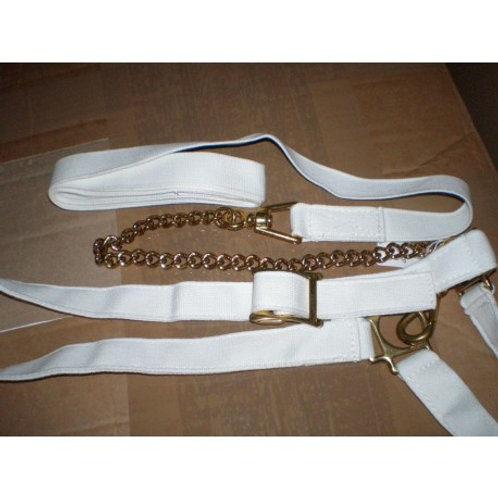 """Adjustable Show Halter with chain 1"""""""