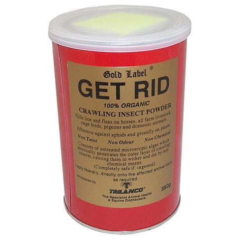 Gold Label Get Rid Powder