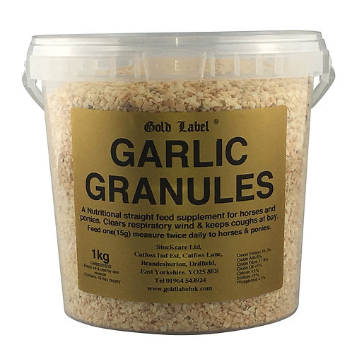 Gold label Garlic 1kg