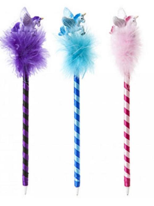Unicorn Fluffy Pen