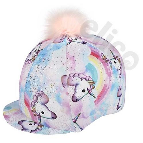 Unicorn Hat Silk with Pom Pom