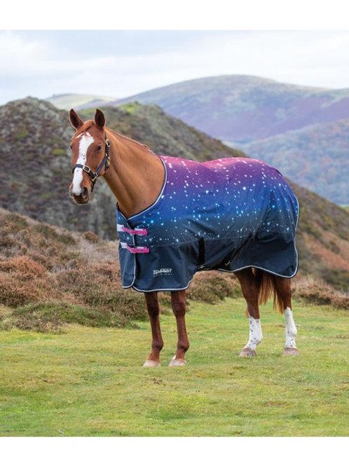 Shires tempest 200gm standard turnout rug pink nebular