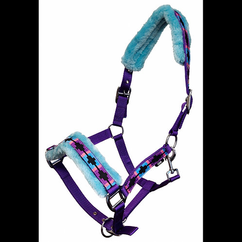 Medway Fluffy Polo Nylon Headcollar
