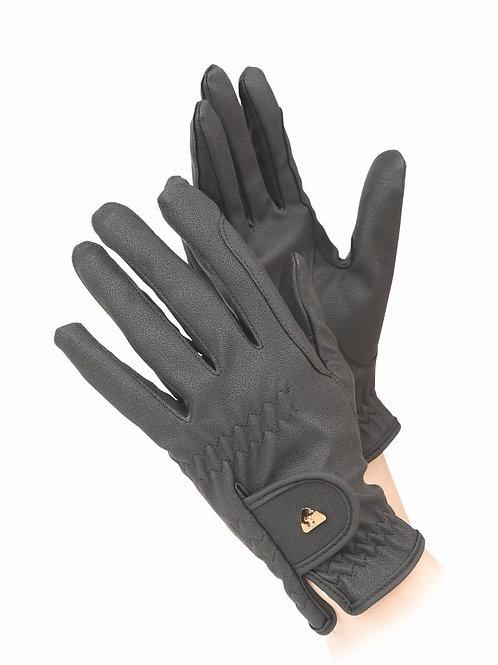 Shires Aubrion PU Riding Gloves