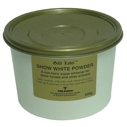 Gold Label show white powder 500gm