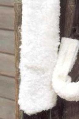 Windsor Fur Fabric Girth Sleeve