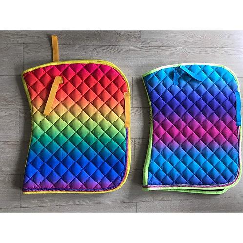 Rainbow Saddlepad