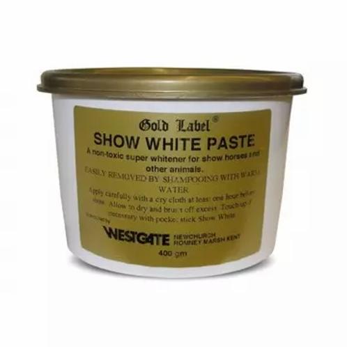 Gold Label Show White Paste