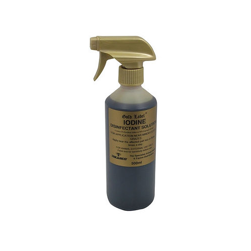 Gold Label Iodine Disinfectant Solution