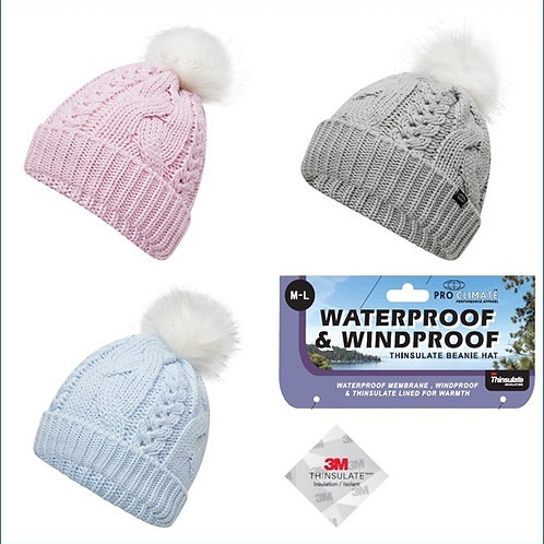 Waterproof and Windproof Beanie Hats