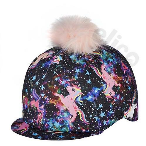 Pony Pattern Hat Silk