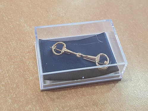 Gold Snaffle Stock Pin