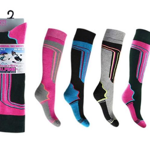 Ladies High Performance Ski Socks
