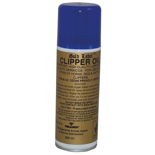 Gold Label Clipper Oil Aerosol 200ml