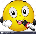 illustration-of-a-smiley-reporter-using-