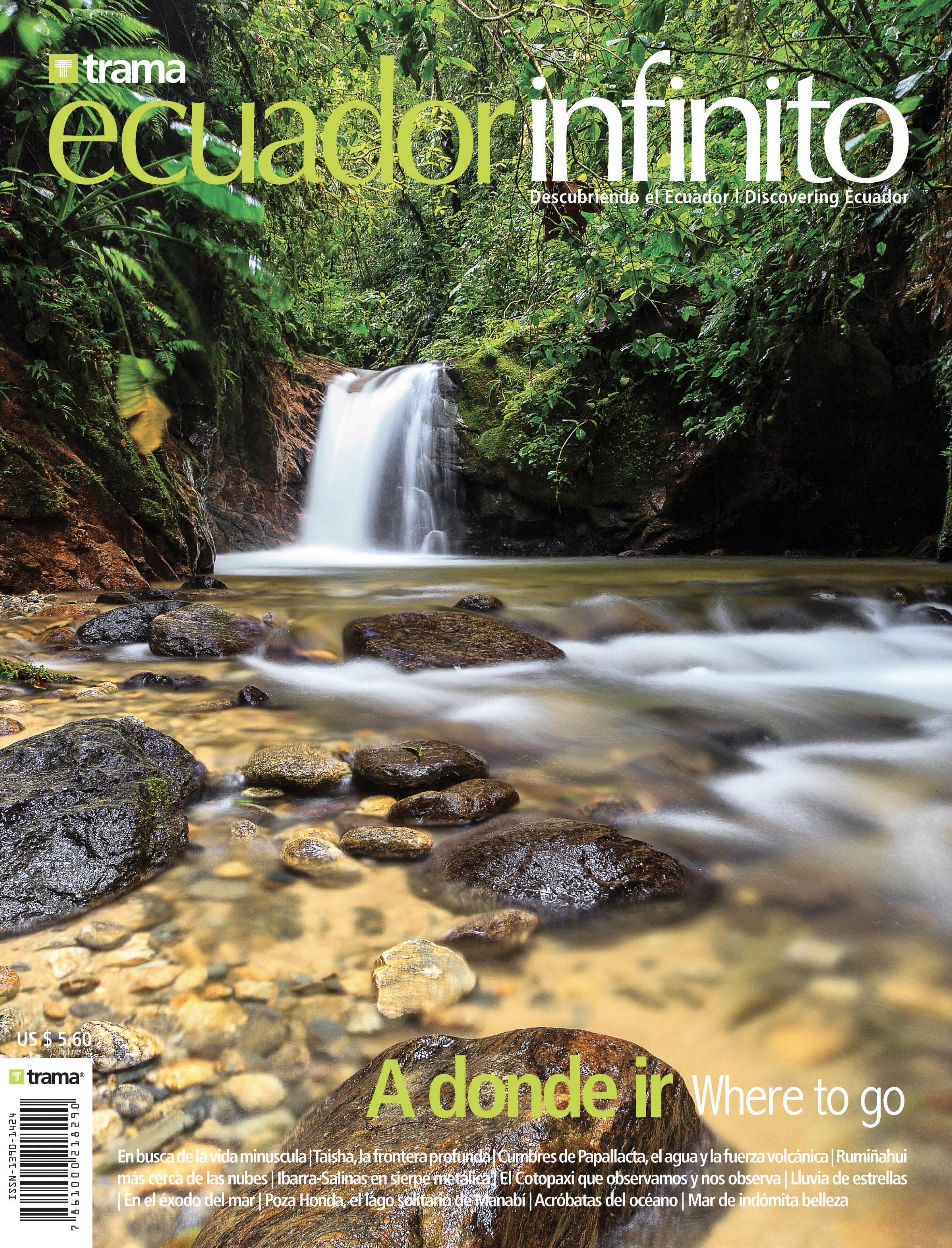 Portada Revista Ecuador Infinito