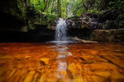 Cascadas coloradas