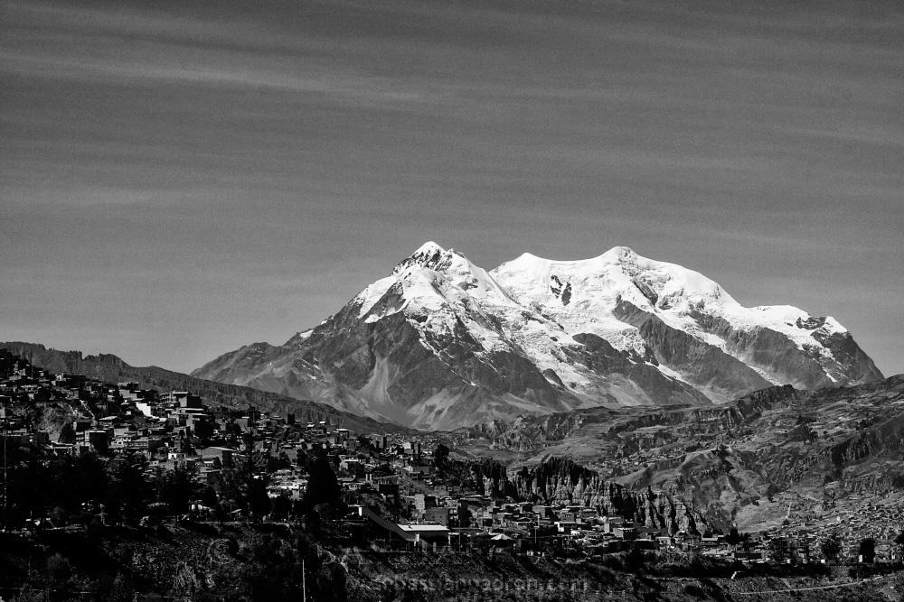 Illimani Bolivia