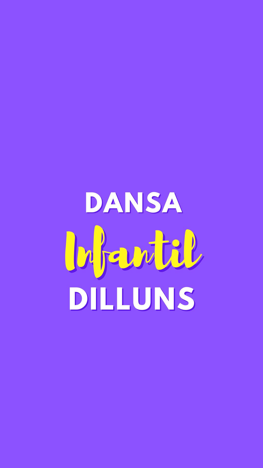 Dansa Infantil 1 (dilluns)
