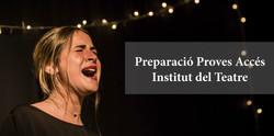 Curs Proves Institut del Teatre