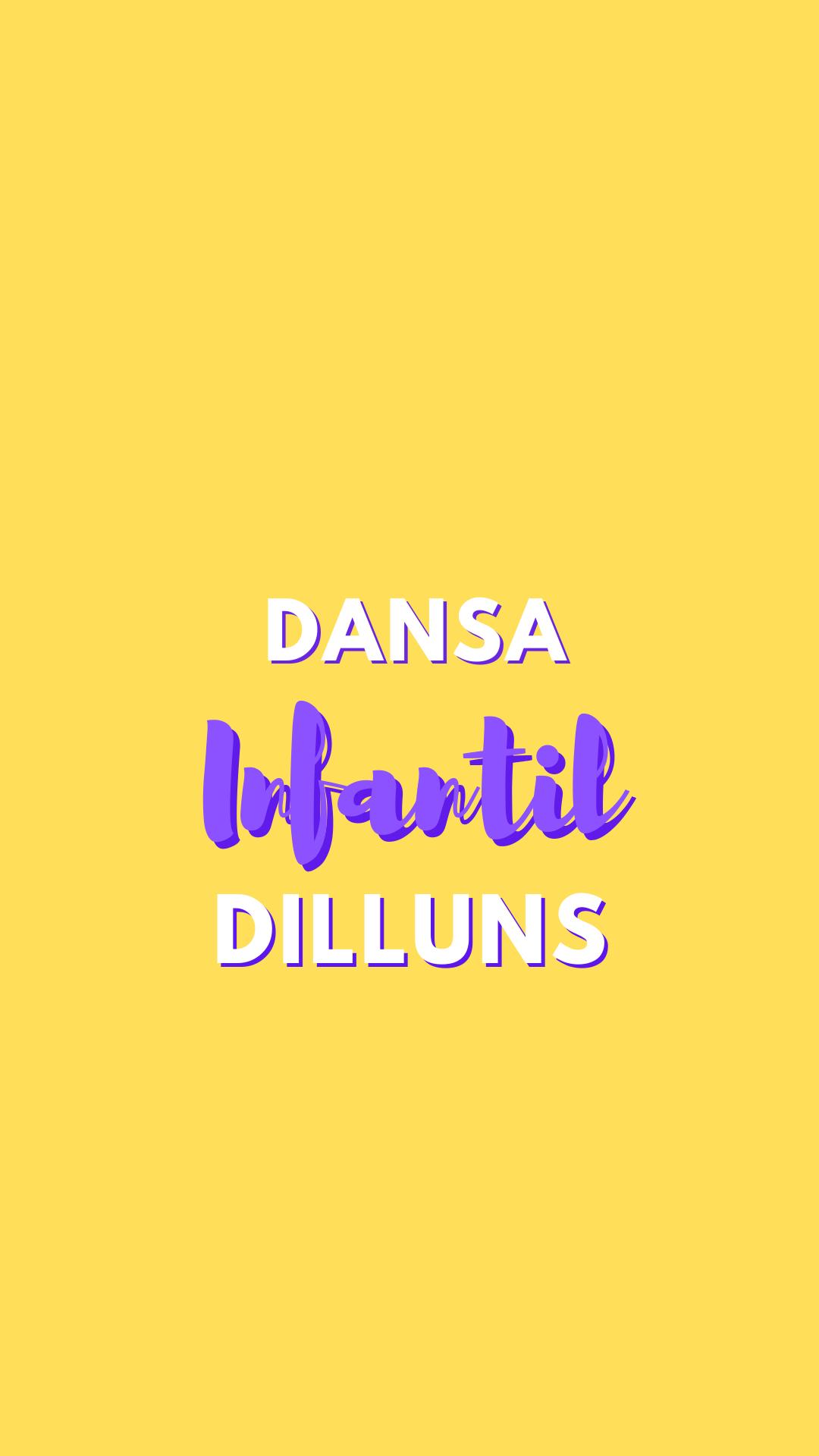 Dansa Infantil 2 (dilluns)