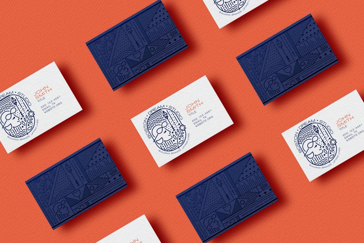 Boston Dream Studio Business Cards