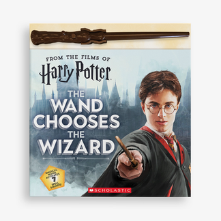 THE WAND CHOOSE THE WIZARD