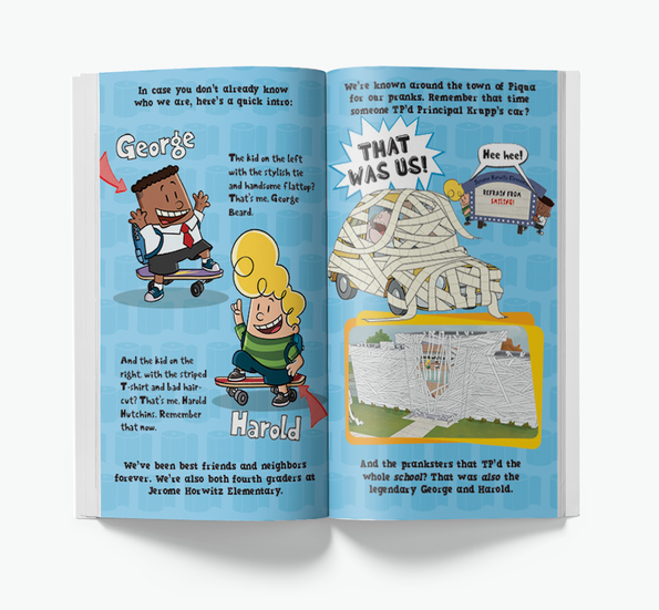 Captain Underpants 3D Guide