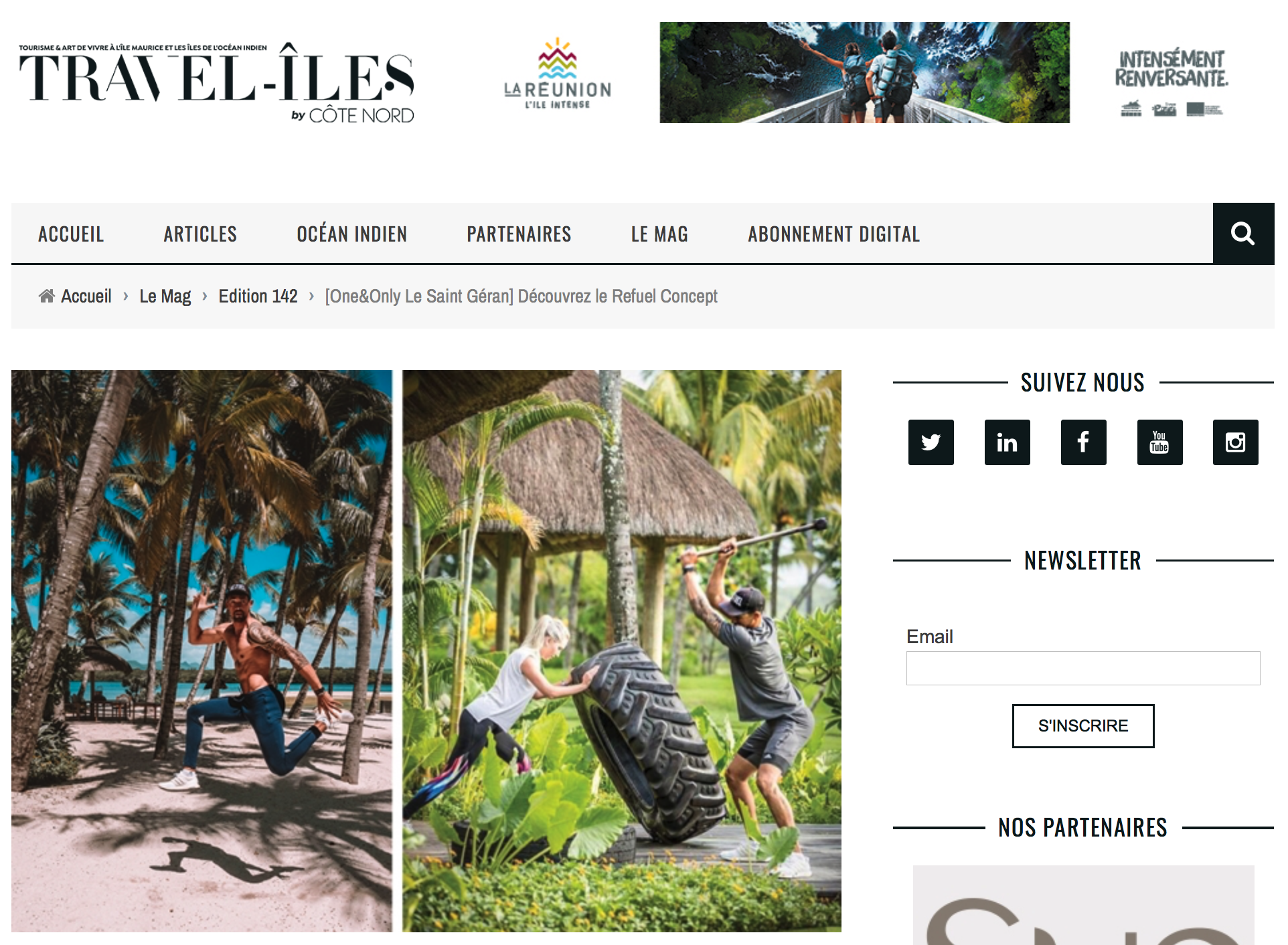 Refuel Concept is a well-being and lifestyle brand that emphasizes the mind-body spirit connection.