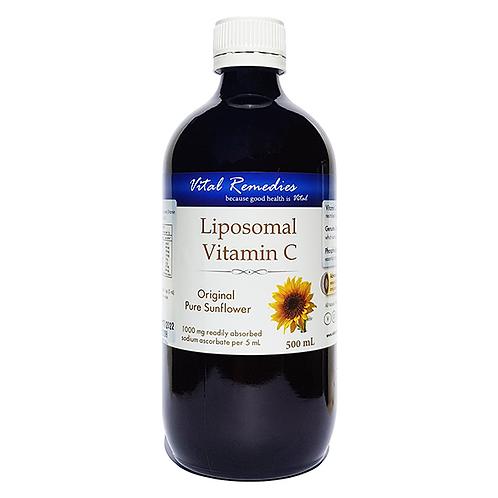 Liposomal Vitamin C - Original Pure Sunflower - 500 mL