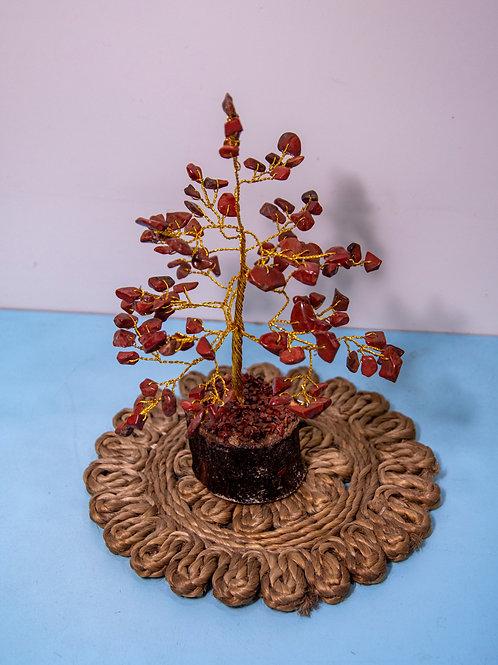 Red Jasper Stone Tree