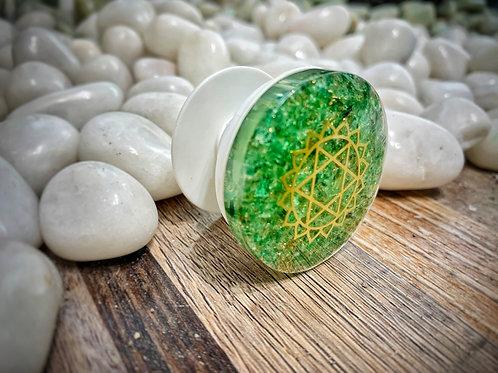 Green Aventurine Pop Socket