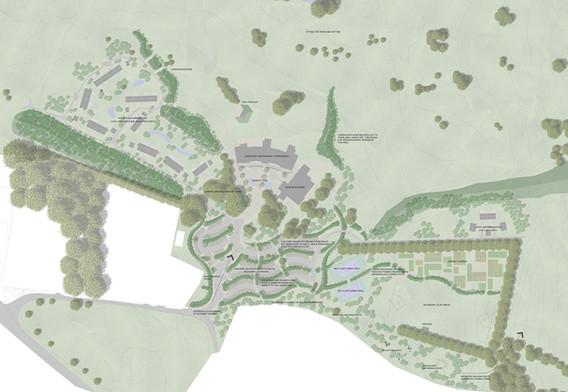 Detailed Masterplan Drawing