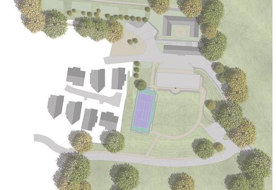 Trewhiddle Site Plan