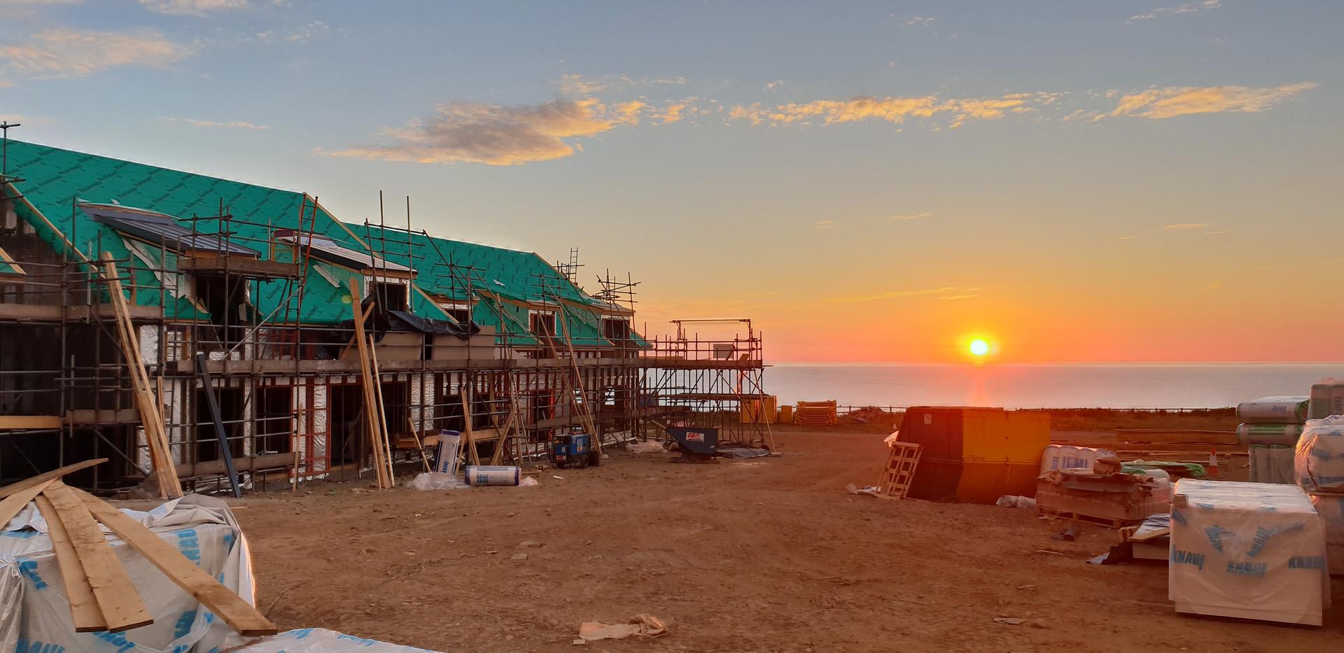 Llyn Peninsula Construction Photo