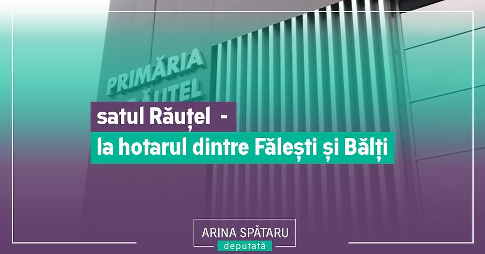 satul Răuțel Fălești - Arina Spătaru