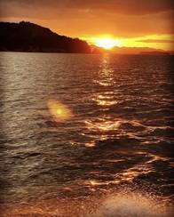 夕陽が似合う島、六島