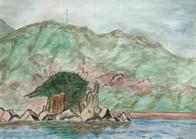 瀬戸のきれいな小島
