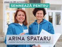 Până pe 20 octombrie semnează pentru Arina Spătaru!