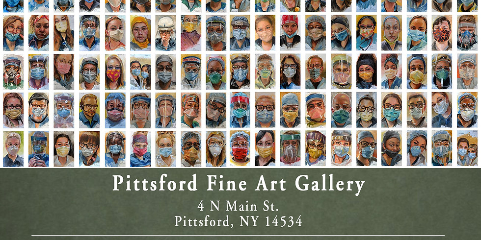 Portraits of the Frontline Gallery Show