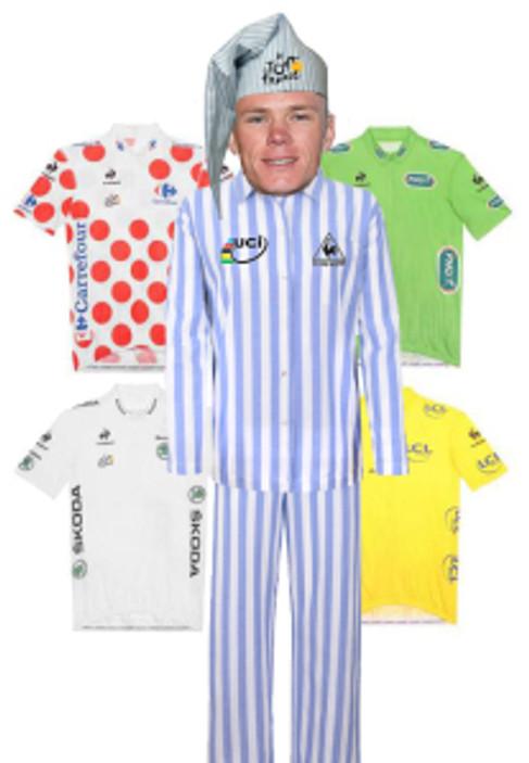 chris froome pyjamas