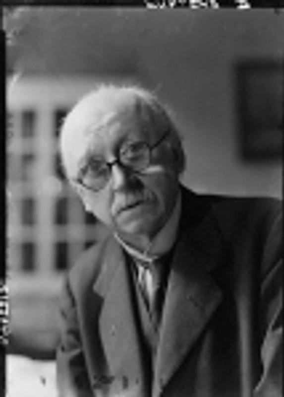 NPG x14403; Sir Edwin Lutyens by Howard Coster