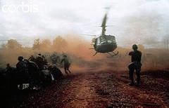 Departing Helicopter, Vietnam War