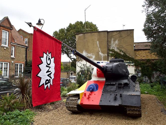 BIG £ANG! BOOM + BU$T Tank