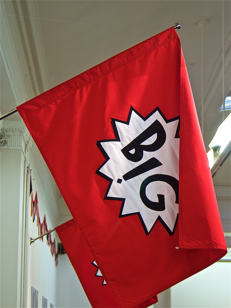 Flag in the exhibition 'Flag of Convenience'